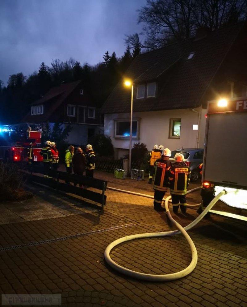 Brandeinsatz vom 01.01.2019     (C) Freiwillige Feuerwehr Bergstadt Bad Grund (Harz) (2019)