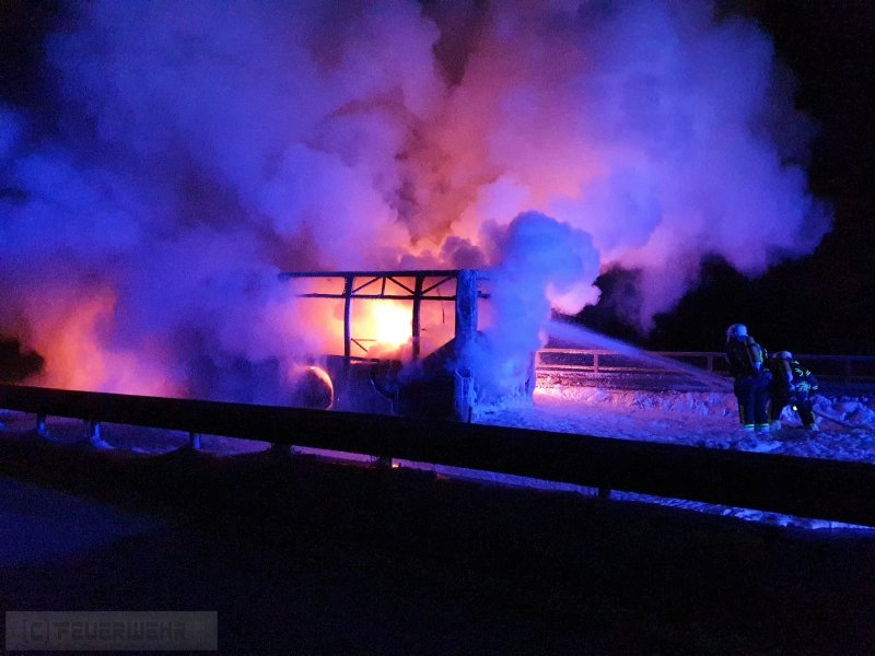 Brandeinsatz vom 14.02.2021  |  (C) Freiwillige Feuerwehr Bergstadt Bad Grund (Harz) (2021)